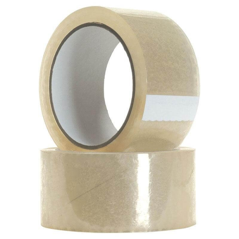 652x Clear Polypropylene Packaging Tape