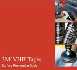 To ensure the best possible bond with any 3M VHB tape: