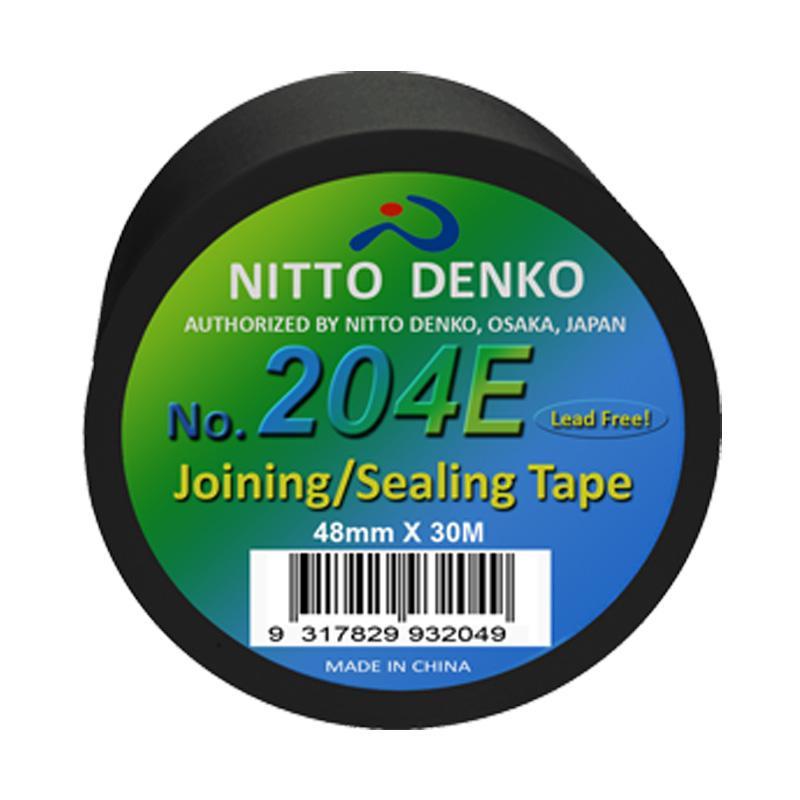Nitto Premium PVC Duct Tape 204E BLACK 50mmx30m