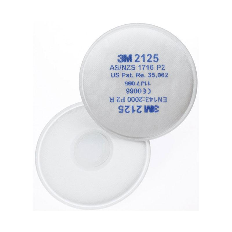 3M Particulate Filter 2125, P2, 50 pairs per carton