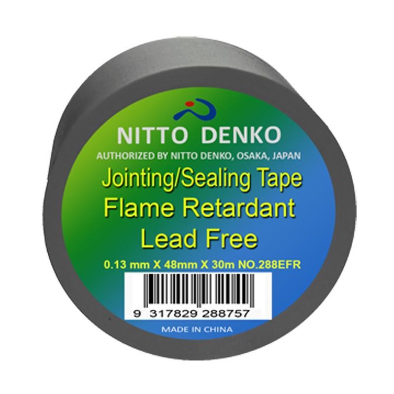 Nitto Flame Retardant Pvc Duct Tape 288efr Silver 48mmx30m
