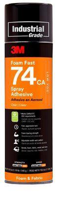 3M 74 Scotch-Weld Foam Fast Spray Adhesive, 489gm