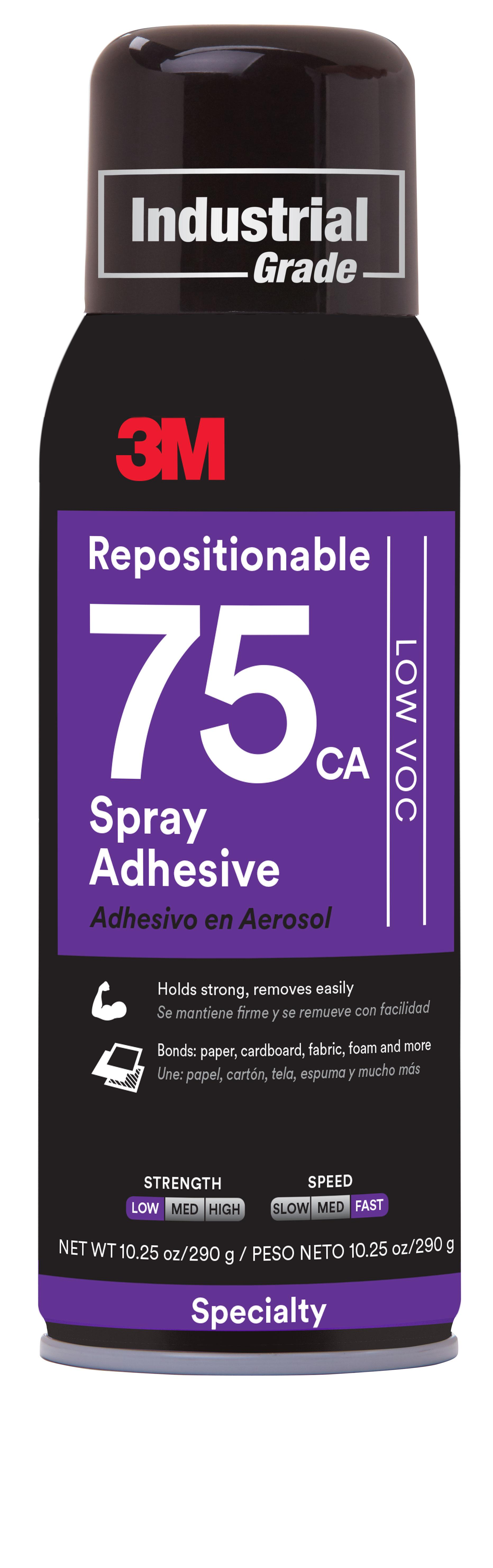 3M Repositionable Adhesive 75 276g