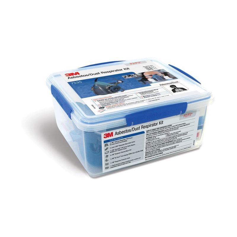 3M Asbestos/Dust Respirator Kit 7535, Large, 2 per carton