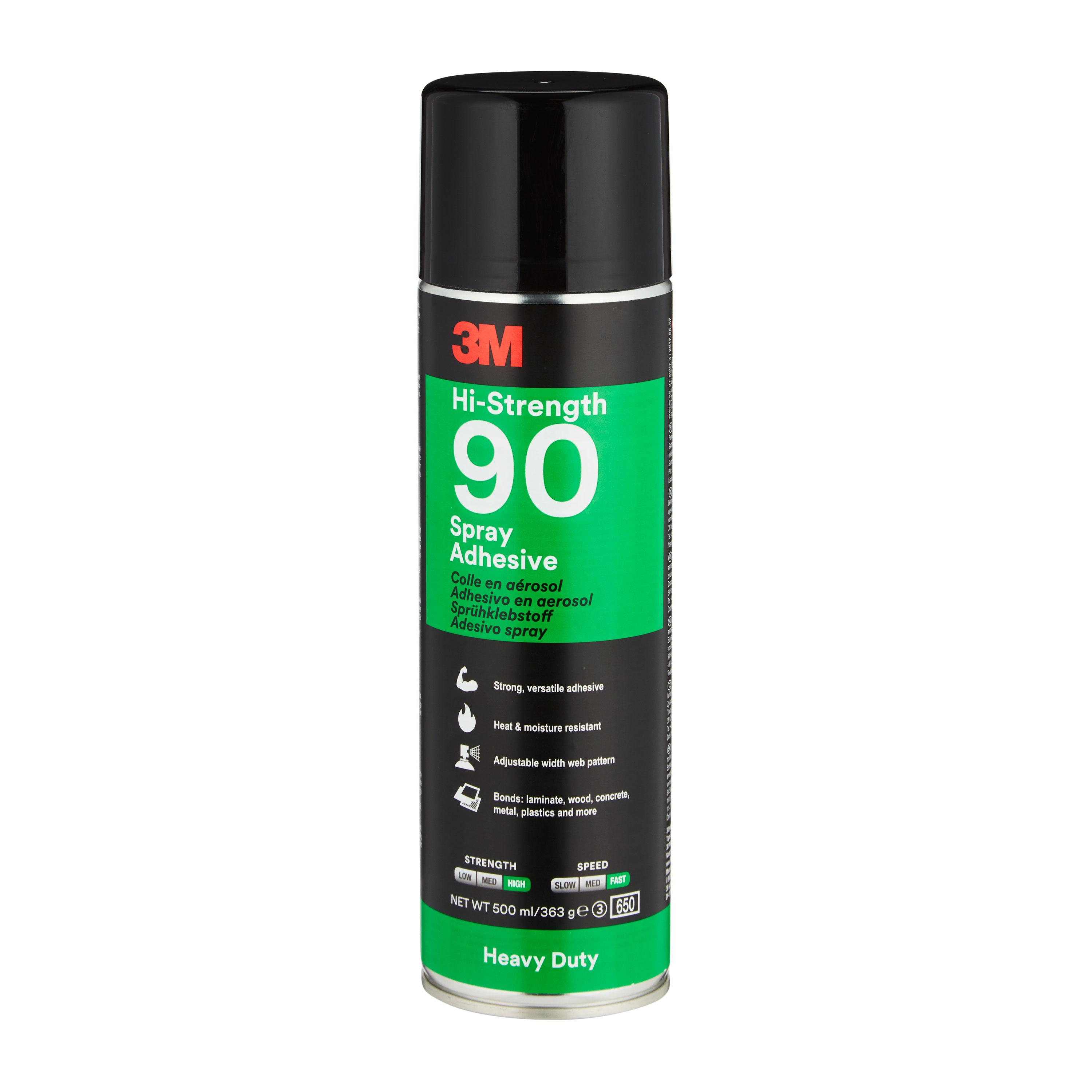 3M 90 Hi-Strength Spray Adhesive, 499gm