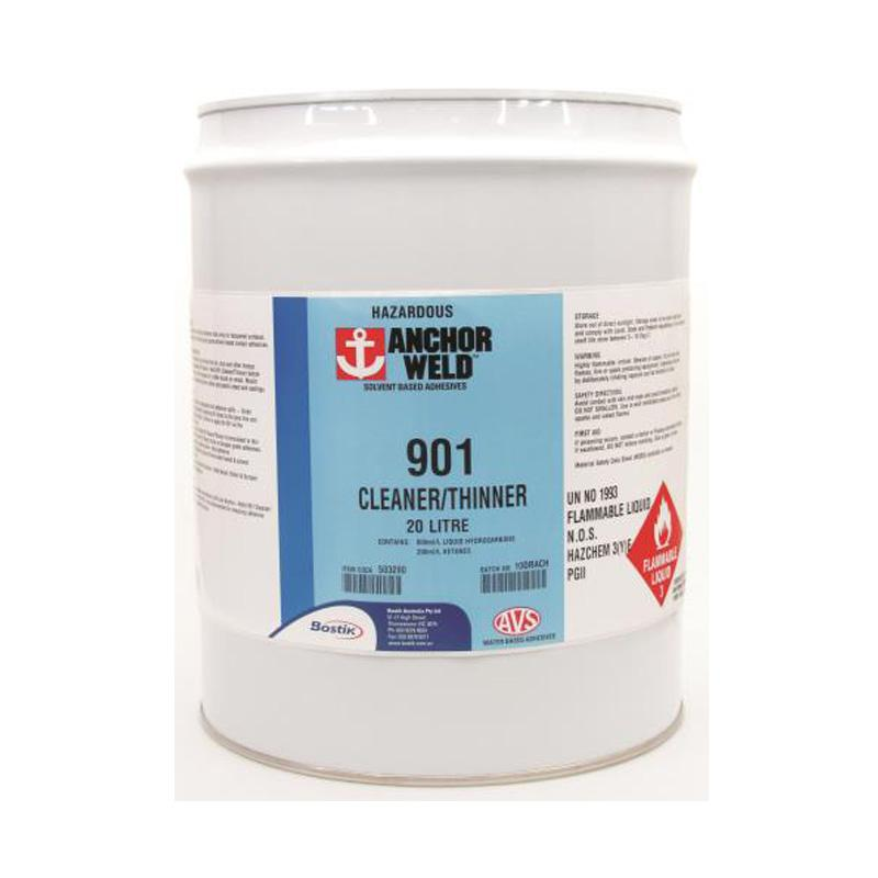 Bostik Anchorweld Cleaner / Thinner 901 20l - Adhesives