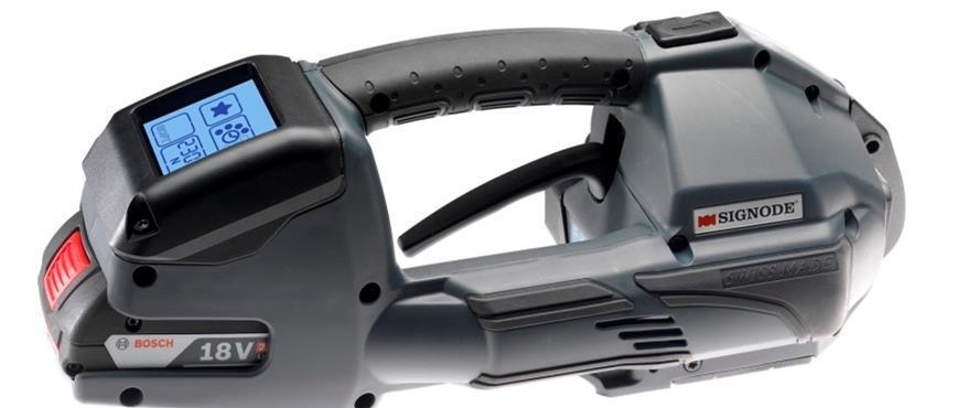 Signode BTX-3, The World's Most Innovative Strapping Hand Tool.