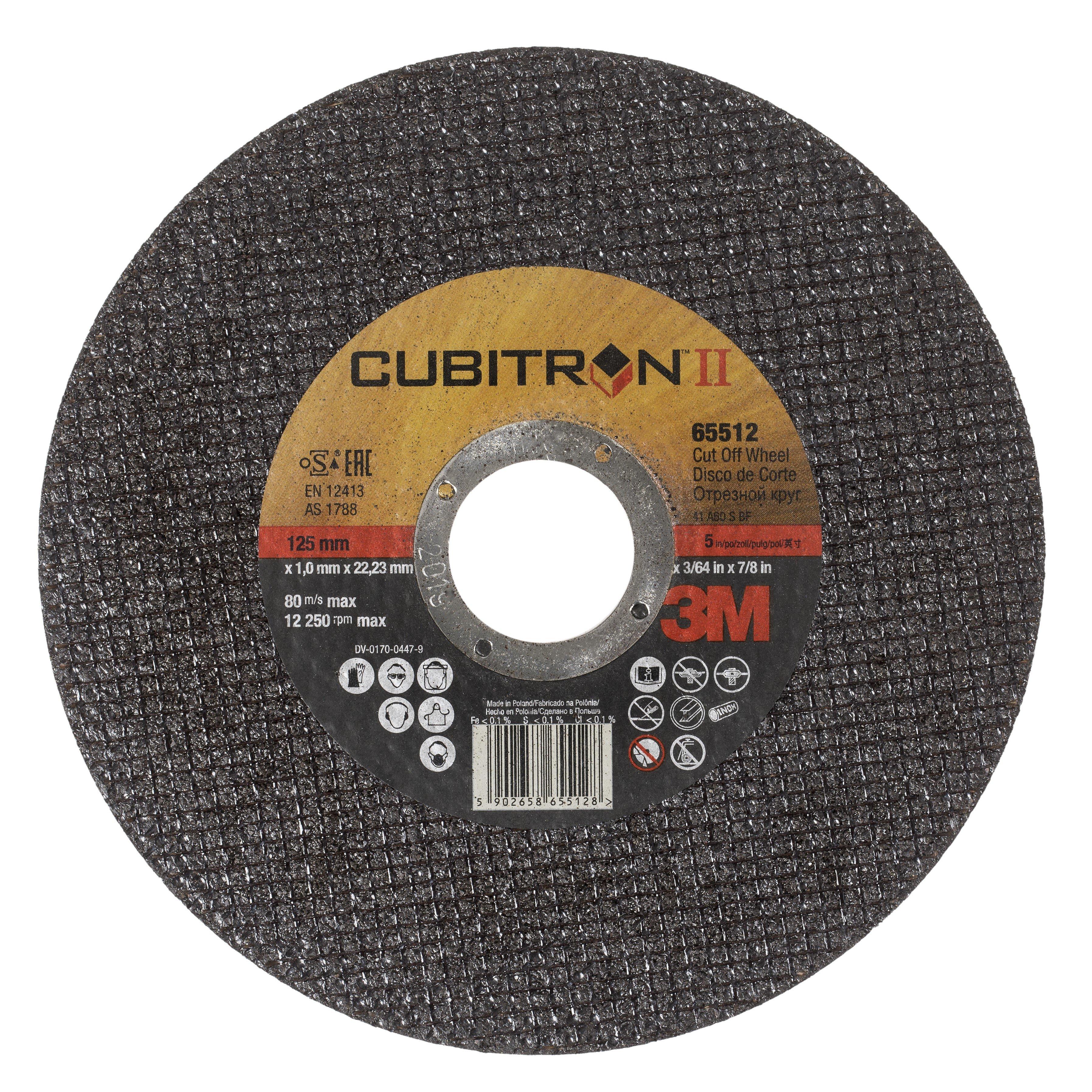 3M Cubitron II Ultra Thin Cut-Off Wheel
