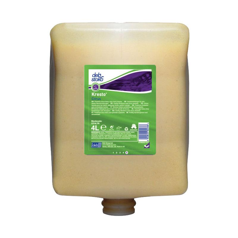 Deb CIT4LT Citrus Power Wash 4Lt Cartridge