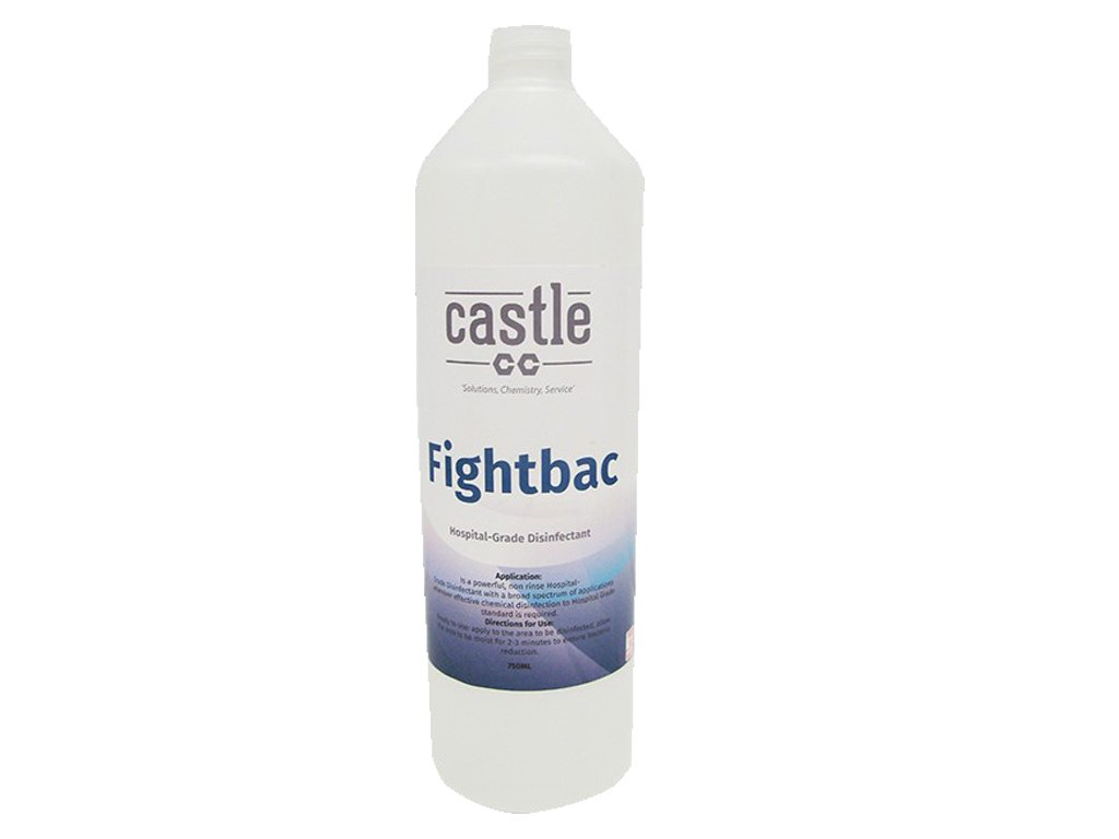 Eliminate COVID-19! Castle Chemicals Fight-Bac and Hi-Touch Disinfectants