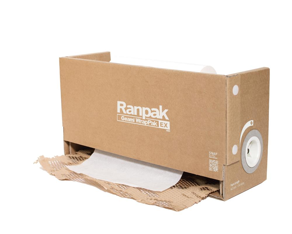 The Geami WrapPak ExBox, the New Recyclable Solution in Void Fillers