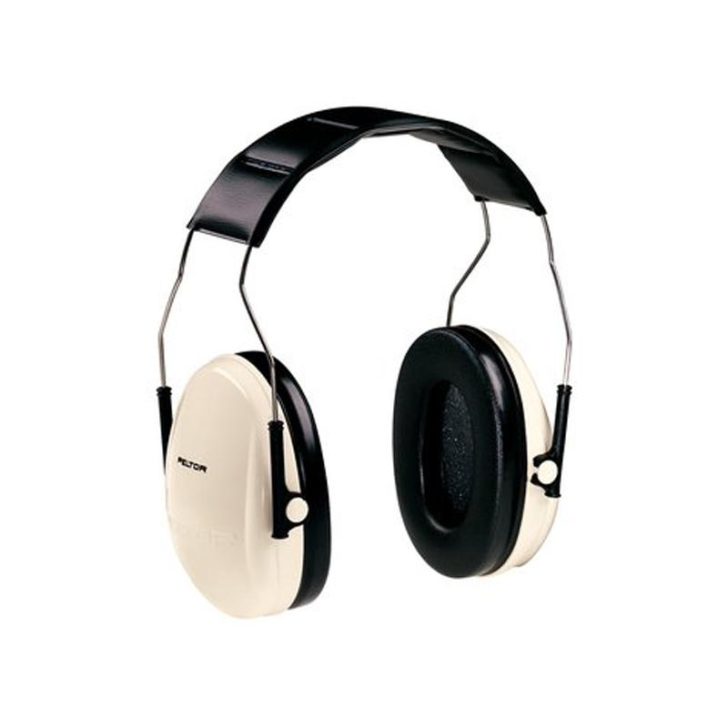 3M Peltor H6 Low Profile Series Beige Headband Earmuffs