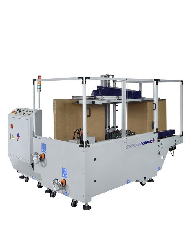 Robopac Carton Erectors and Belt Feeders