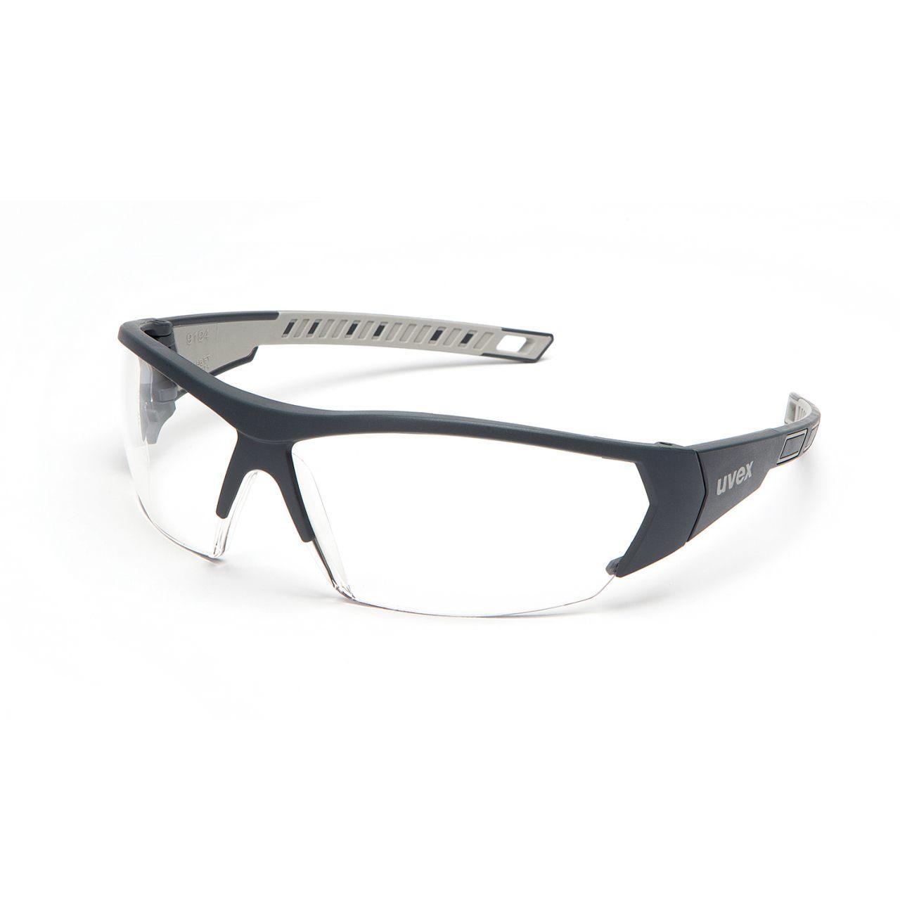 Uvex iWorks THS Anti-Fog Safety Glasses - Clear