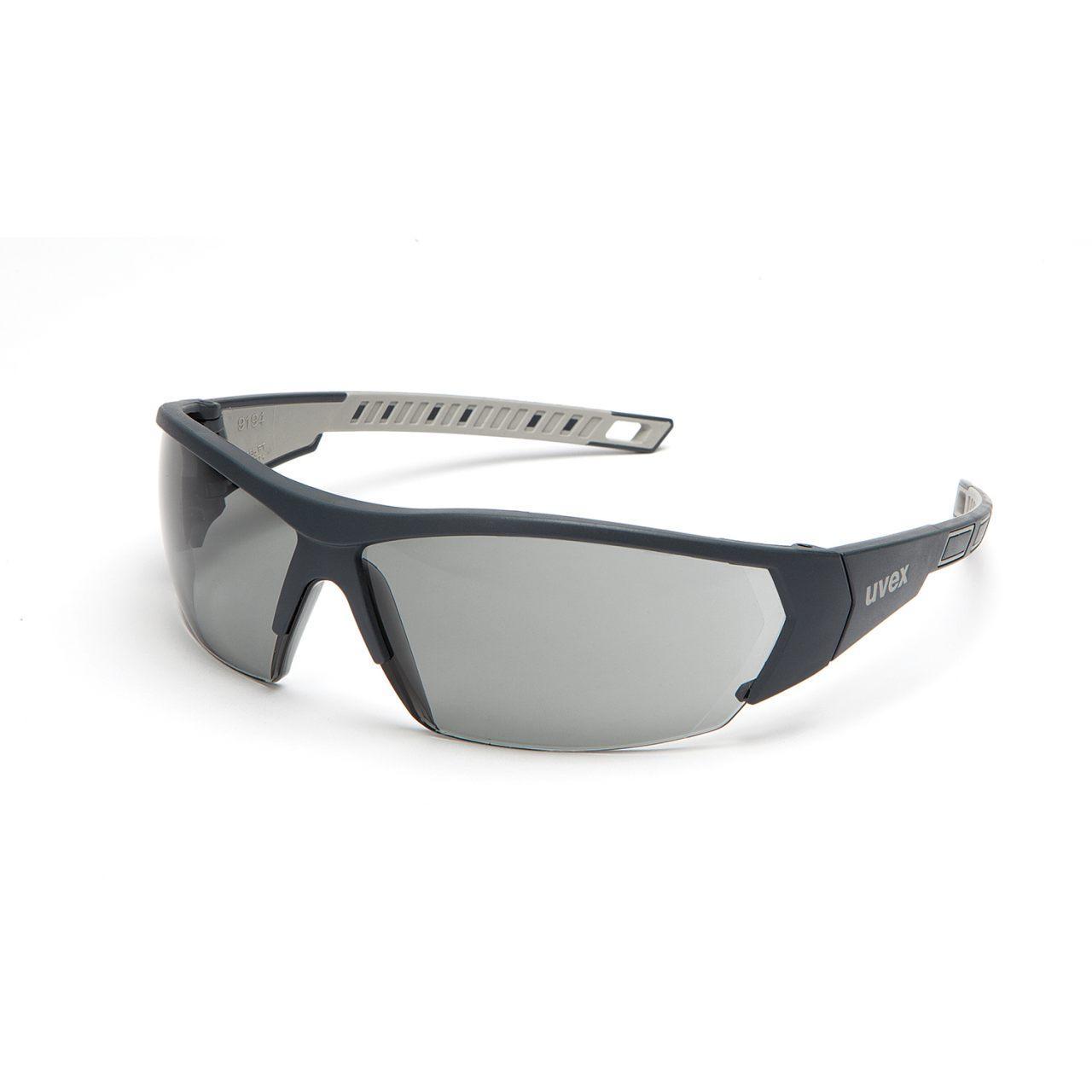 Uvex iWorks THS Anti-Fog Safety Glasses - Grey