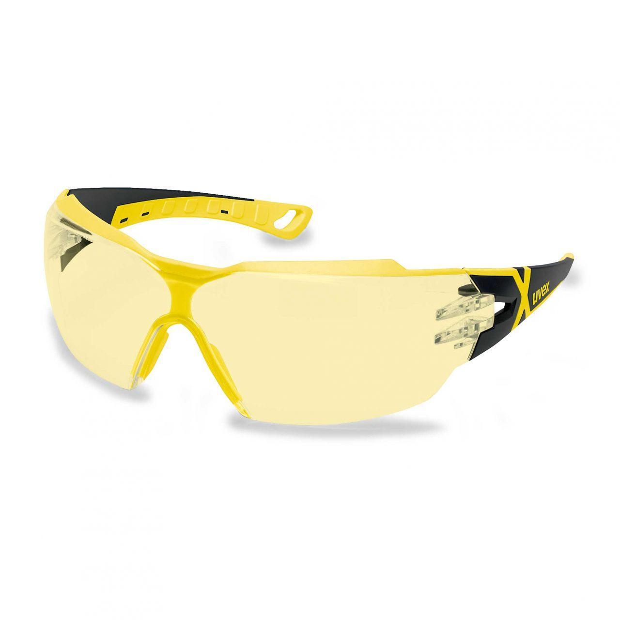 Uvex Pheos CX2 Safety Glasses Amber