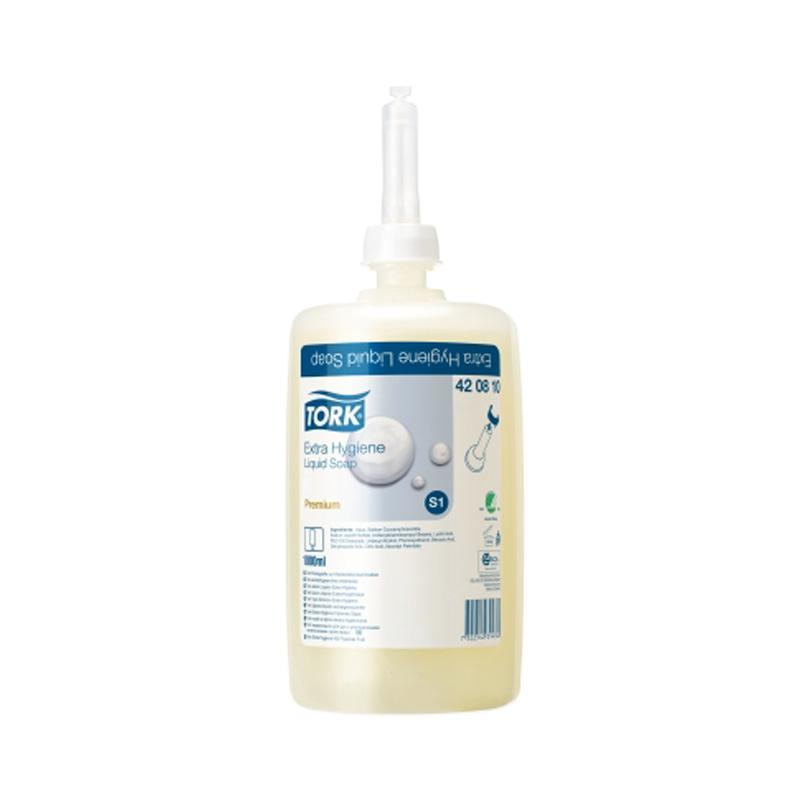 Tork Liquid Soap Premium Extra Hygine 420810 1lt 6 per ctn