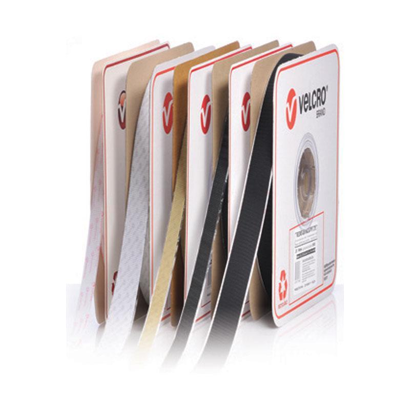 VELCRO Brand Hook BLACK 19mmx25m 1 roll