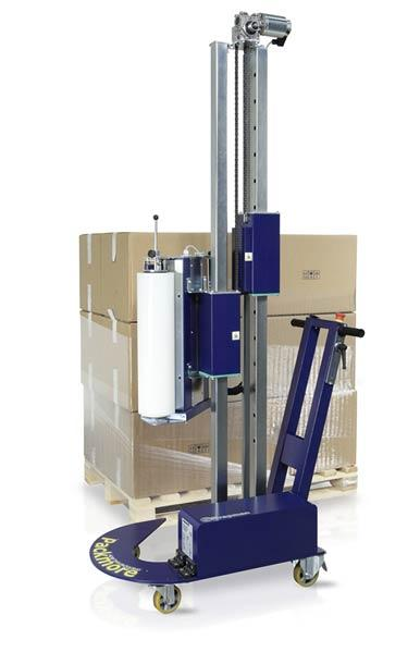 Robopac Stretch Wrappers. Small Warehouse, Big Solution!