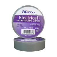 Nitto Electrical Tape 21 GREY 19mmx20m - Click for more info
