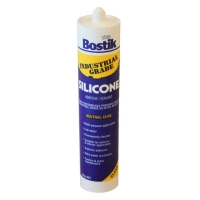 Bostik 266434 CLR Indust Grade Silicone 300Gm Neutral Cure - Click for more info