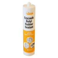 Bostik 309310 Z-Bond Ezycaulk Buytl Mastic WHITE 500Gm - Click for more info
