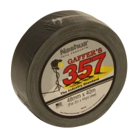 Nashua 357 Gaffer Tape BLACK 48mmx40m - Click for more info