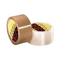 3M Scotch Box Sealing Tape 371 BROWN 48mmx100m 36 per ctn - Click for more info