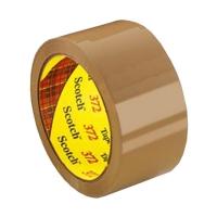 3M Scotch Box Sealing Tape 372 BROWN 36mmx75m 48 per carton - Click for more info