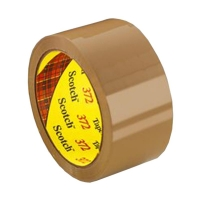3M Scotch Box Sealing Tape 372 BROWN 48mmx75m - Click for more info