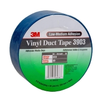 3M Vinyl Duct Tape 3903 Blue 50mm x 45m 24 per carton - Click for more info