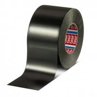 tesa 4258 PV1 Premium Grade PVC Black Duct Tape 48mm x 50m - Click for more info
