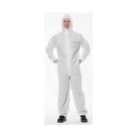 3M Protective Coverall 4520 WHITE+GREEN Medium, 20 per carto - Click for more info