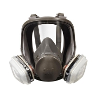 3M Full Face Reusable Respirator 6800 - Click for more info