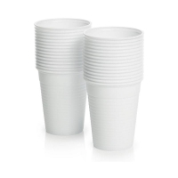 Cups Coffee/Water 6OZ 185ml WHITE 1000 per carton - Click for more info