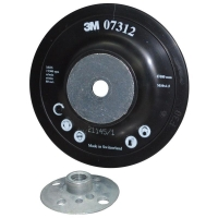 3M 7312 Fibre Disc Backup Pad Flat 100mm To Suit M10-1.50 - Click for more info