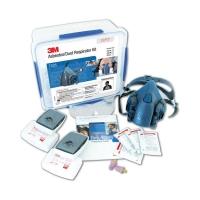 3M Asbestos/Dust Respirator Kit 7535, Medium, 2 per carton