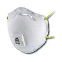 3M Cupped Particulate Respirator 8312 P1 valved 8 bx per ct - Click for more info