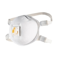 3M Particulate Welding Respirator 8512 P2 valve 8 bx per ct - Click for more info