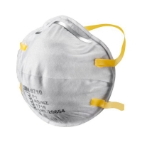 3M Cupped Particulate Respirator 8710 P1 20 per box - Click for more info