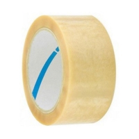 PVC Tape with Silent Unwind 20C CLEAR 38mmx66m 48 per ctn - Click for more info