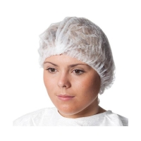 "Hair Net Disposable 21"" Round WHITE 1000 per carton - Click for more info"