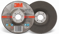 3M Silver Cut and Grind Wheel 125mm x 4.2mm x 22mm (CTN QTY) - Click for more info
