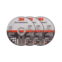 3M High Performance Cut-Off Wheel 100mmx2.5mmx16mm - Click for more info