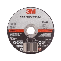 3M High Performance Cut-Off Wheel 100mmx2.5mmx16mm