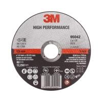 3M High Performance Cut-Off Wheel 125mmx1.6mmx22mm