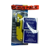Utility Blades Heavy Duty 2 BOXES 100 per box FREE KNIFE - Click for more info