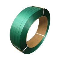 Polyester Strapping Embossed GREEN 16mmx0.9mmx1350m - Click for more info
