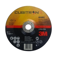 3M Cubitron II Depressed Centre Grinding Wheel 125mmx7x22mm - Click for more info
