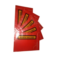 Invoice Enclosed BLACK ON YELLOW 165mmx115mm 1000 per box - Click for more info